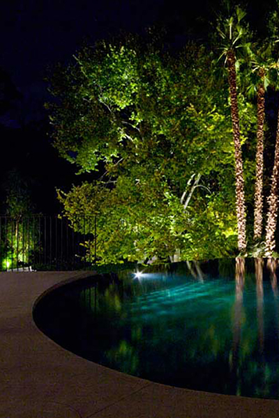 Gardens at Night Project in Focus Outdoor Lighting Hawthorn 7