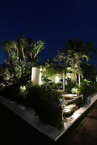 Gardens at Night Myles Baldwin Singapore Garden Festival 2018 outdoor lighting main