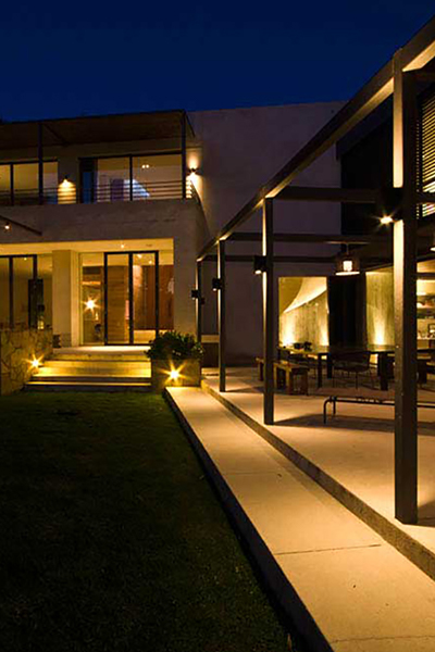 Gardens at Night Project in Focus Outdoor Lighting Hawthorn 4