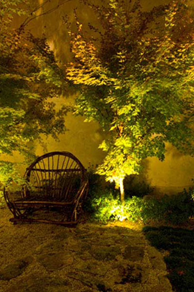 Gardens at Night Project in Focus Outdoor Lighting Hawthorn 8