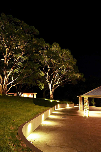 Gardens at Night Project in Focus Outdoor Lighting Mainridge 6