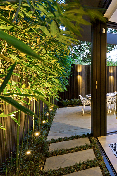 Gardens at Night Project in Focus Outdoor Lighting Melbourne 1