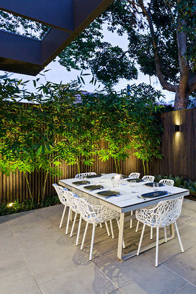 Gardens at Night Project in Focus Outdoor Lighting Melbourne 3