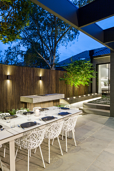 Gardens at Night Project in Focus Outdoor Lighting Melbourne 4