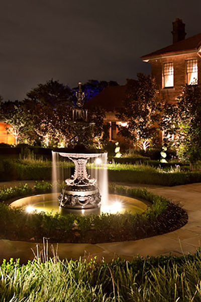 Gardens at Night Project in Focus Outdoor Lighting Roseville 2