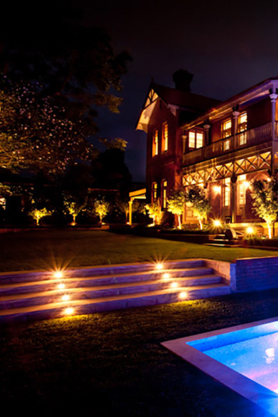 Gardens at Night Project in Focus Outdoor Lighting Roseville 4