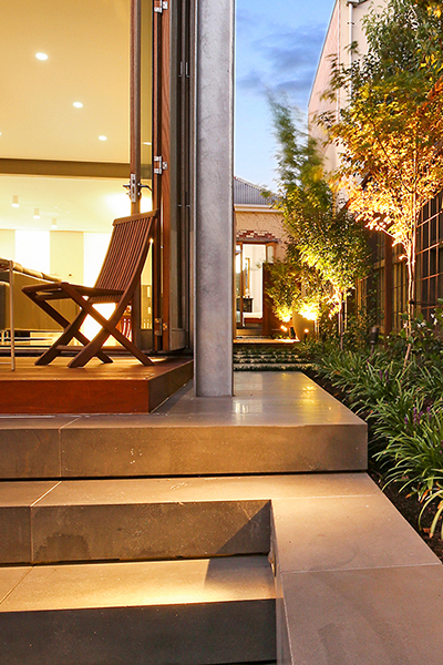 Gardens at Night_Outdoor Lighting_Project Focus_North Melbourne_2 (2)