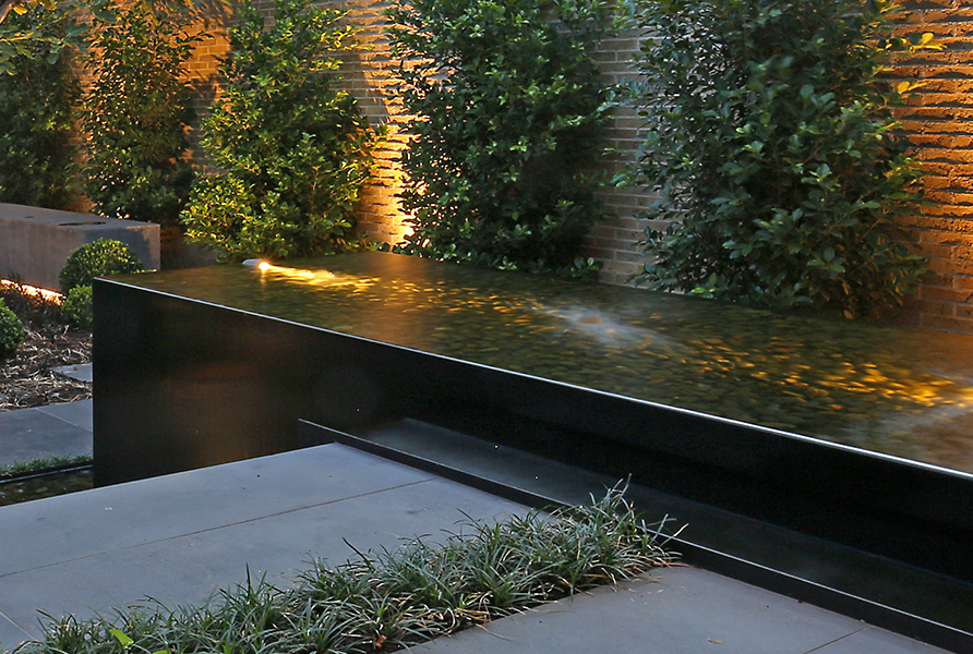 Gardens at Night_Outdoor Lighting_Project Focus_North Melbourne_4