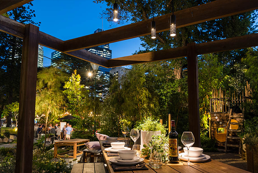 MIFGS 2018 Gardens by Twilight Gardens at Night 7