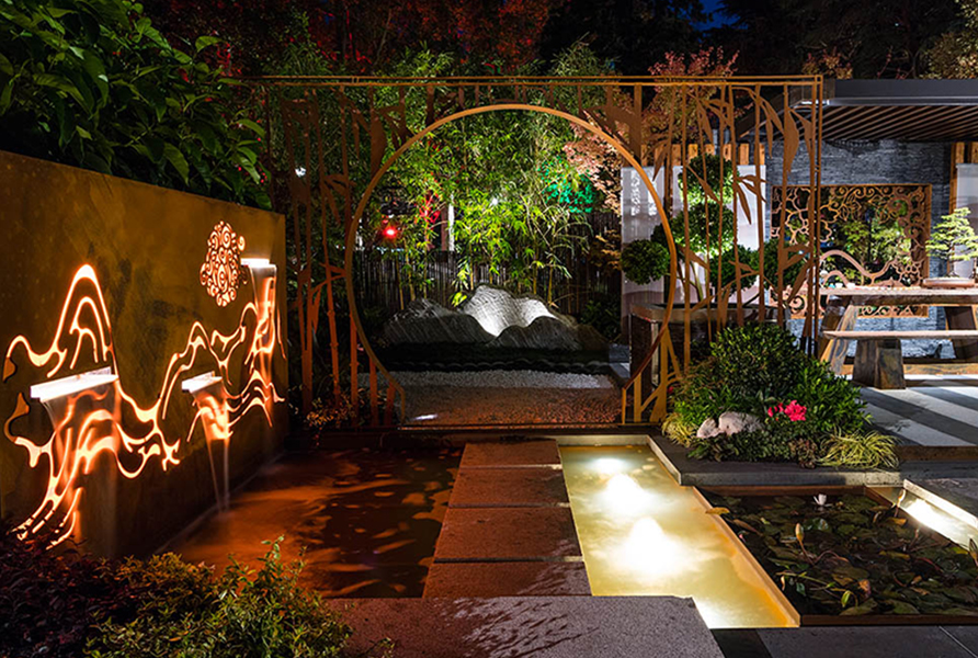 MIFGS 2018 Gardens by Twilight Gardens at Night_