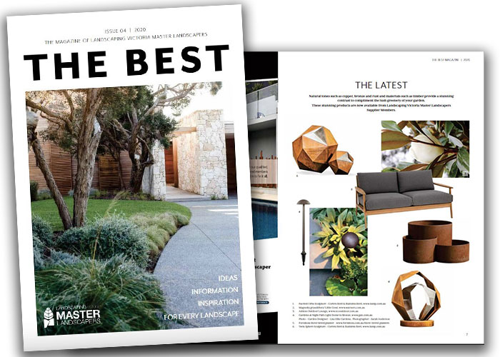 Gardens at Night path light dome in landscaping victoria the best magazine